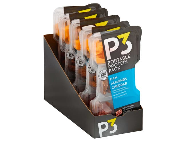 P3 Ham and Cheese Convenience Meal, 2 Ounce -- 10 per case.
