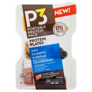 Oscar Mayer P3 Ham, Cashew, Cheddar and Dark Chocolate Cranberries Portable Protein Pack, 3.2 ounce -- 8 per case