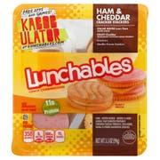 Kraft Oscar Mayer Lunchable Ham and Cheddar Cracker Stacker, 3.5 Ounce -- 16 per case.