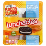 Kraft Oscar Mayer Lunchable Turkey and American Cheese Cracker Stacker, 4.2 Ounce -- 16 per case.