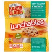 Kraft Oscar Mayer Lunchable Bologna and American Cracker Stacker, 4.15 Ounce -- 16 per case.