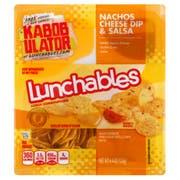 Kraft Oscar Mayer Lunchable Cheese Dip and Salsa Nacho, 4.4 Ounce -- 16 per case.
