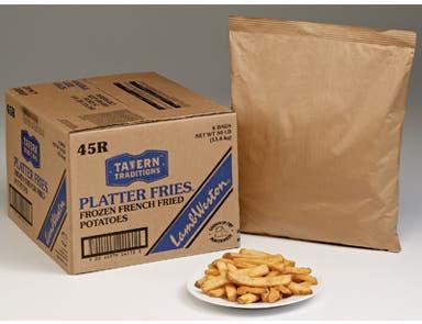 Lamb Weston Microbrew Skin On Platter Potato Fry, 5 Pound -- 6 per case.