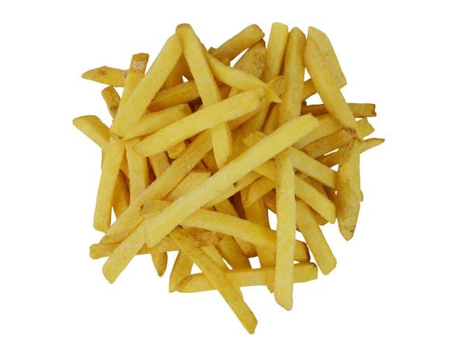 Yukon Selects 3/8 inch Regular Cut Skin On Potatoes, 4.5 Pound -- 6 per case.
