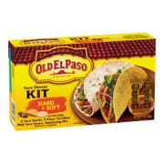 Old El Paso Hard and Soft Taco Dinner Kit, 11.4 Ounce -- 12 per case.