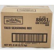 Old El Paso Taco Seasoning - 6 lb. container, 1 per case