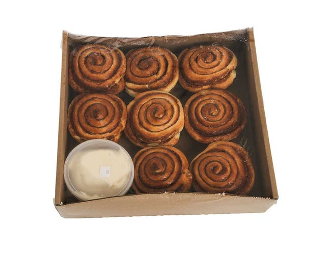 Pennant Foods Thaw and Finish Cinnamon Roll, 5 Ounce -- 40 per case.