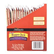 Sargento Pepperjack Cheese Snacks, 1.5 Ounce -- 72 per case.