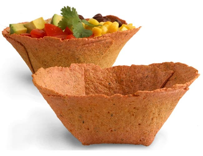 Edibowls Red Beet and Onion Cracker Bowl -- 48 per case