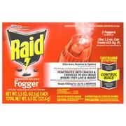 Raid Concentrated Deep Reach Fogger - Triple Pack, 4.5 Ounce -- 12 per case.