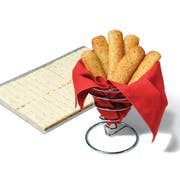 Bridgford White Whole Wheat Cheesy Garlic Breadstick Dough -- 320 per case.