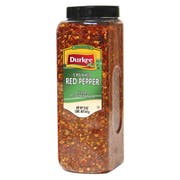 Durkee Crushed Red Pepper - 12 oz. container, 6 per case