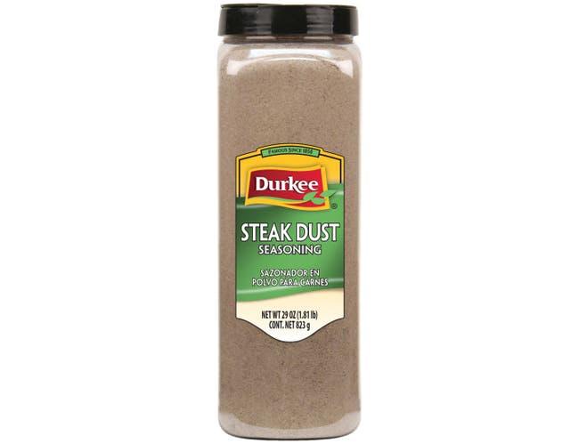 Durkee Steak Dust Seasoning - 29 oz. container, 6 per case