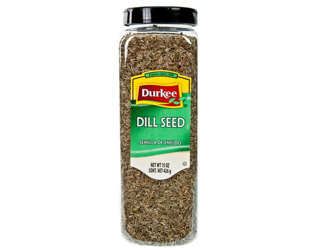Durkee Whole Dill Seed - 16 oz. container, 6 per case