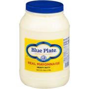 Blue Plate Heavy Duty Mayonnaise, 1 Gallon -- 4 per case.