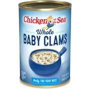 Chicken Of The Sea Whole Baby Clams, 10 Ounce -- 12 cans per case.