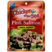 Chicken of the Sea Skinless Boneless Pink Salmon in Lemon Pepper Pouch, 2.5 Ounce -- 12 per case