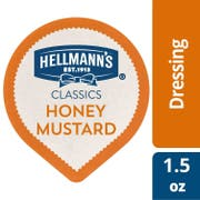 Hellmann's Classics Dip Cups Honey Mustard Dressing 1.5 oz-- 108 per case