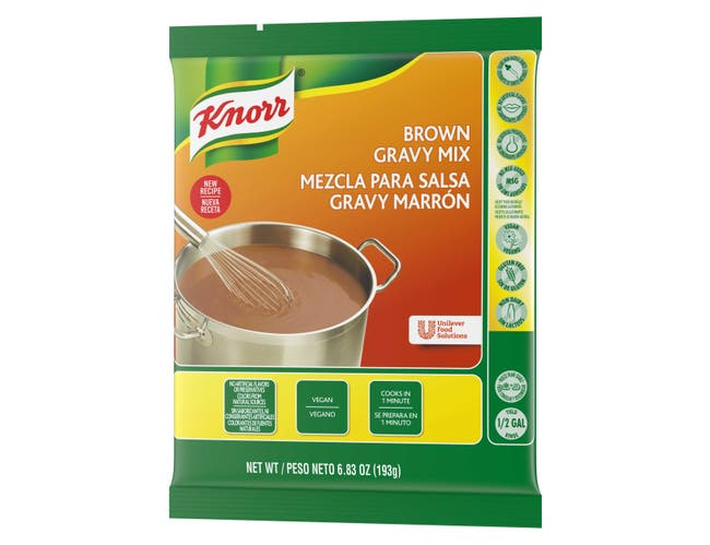 Knorr Professional Brown Gravy Mix, 6.83 ounce -- 6 per case