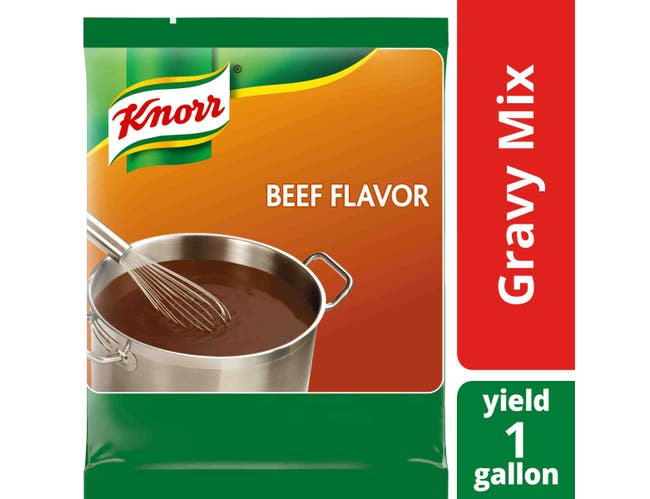 Knorr Professional Gluten Free Beef Gravy Mix, 12.66 ounce -- 6 per case