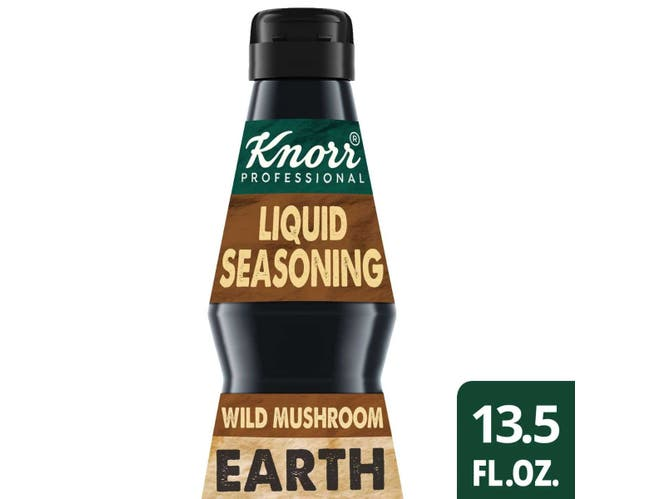 Knorr Professional Ultimate Intense Flavors Liquid Seasoning Wild Mushroom Earth, 13.5 ounce -- 4 per case
