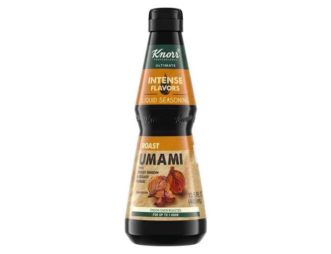 Knorr Professional Ultimate Intense Flavors Roast Umami Liquid Seasoning, 13.5 ounce -- 4 per case