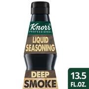 SINGLE Knorr Professional Ultimate Intense Flavors Liquid Seasoning Deep Smoke, 13.5 ounce -- 1 each