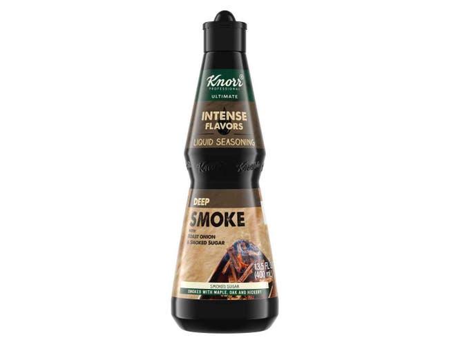 Knorr Professional Ultimate Intense Flavors Liquid Seasoning Deep Smoke, 13.5 ounce -- 4 per case