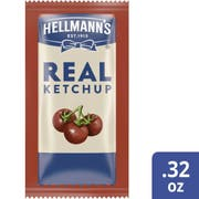 Hellmanns Real Ketchup No HFCS, 0.32 Ounce -- 1000 per case