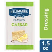 Hellmann's Classics Salad Dressing Portion Control Sachets Caesar 1.5 oz, Pack of 102