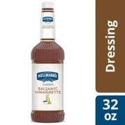 Hellmann's Classics Balsamic Vinaigrette Salad Dressing Salad Bar Bottle, 32 Ounce -- 6 Per Case
