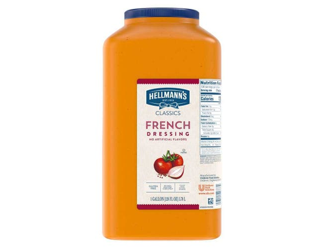 Hellmann's Classics French Salad Dressing Jug, 1 gallon -- 4 per case