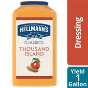 Hellmann's Classics Thousand Island Salad Dressing Jug, 1 gallon -- 4 per case