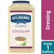 Hellmann's Coleslaw  Salad Dressing Jug, 1 gallon-- 4 per case