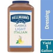 Hellmann's Light Italian Salad Dressing Jug, 1 gallon -- 4 per case