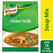 Knorr Professional Soup du Jour Chicken Tortilla Soup Mix, 14.4 ounce -- 4 per case