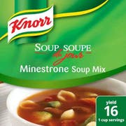 Knorr Professional Soup du Jour Minestrone Soup Mix, 14.9 ounce -- 4 per case