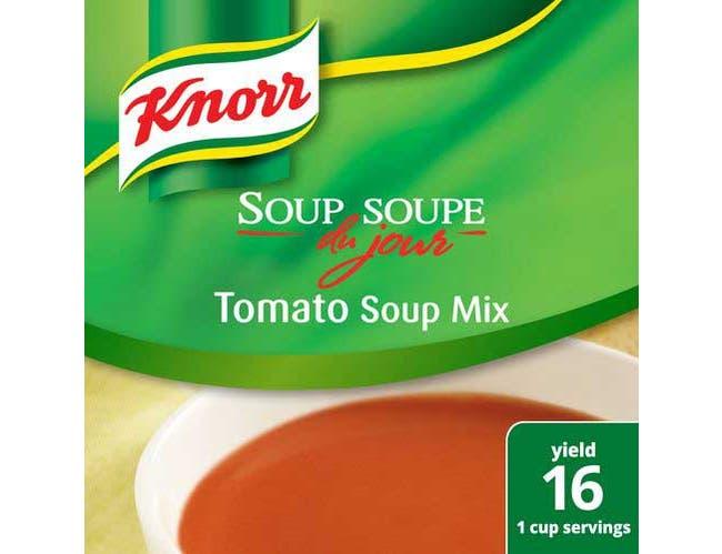 Knorr Professional Soup du Jour Tomato Soup Mix, 13.6 ounce -- 4 per case