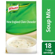 Knorr Professional Soup du Jour New England Clam Chowder Soup Mix, 27 ounce -- 4 per case