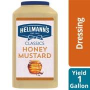 Hellmann's Classics Honey Mustard Salad Dressing Jug, 1 gallon -- 4 per case