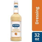 Hellmann's Classics Honey Mustard Salad Dressing Salad Bar Bottle, 32 Ounce -- 6 Per Case