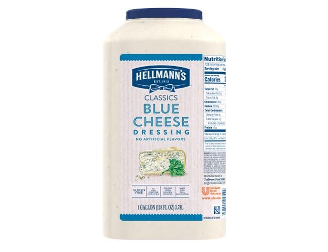 Hellmann's Classics Blue Cheese Salad Dressing Jug, 1 gallon -- 4 per case