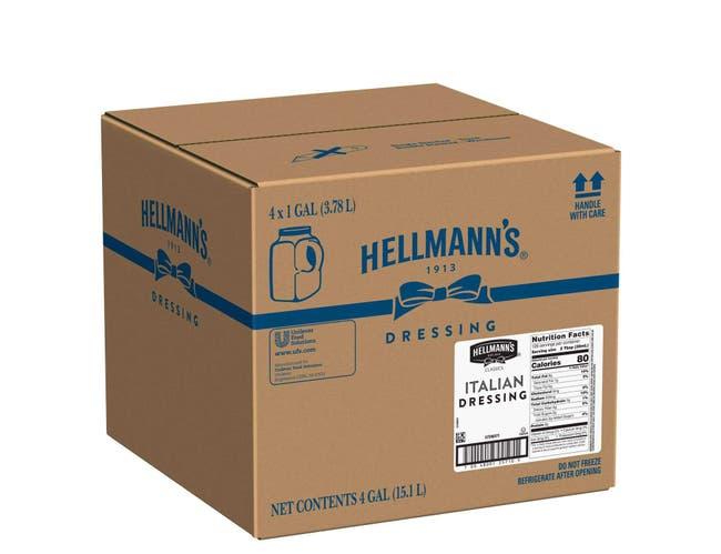 Hellmann's Classics Italian Salad Dressing Jug, 1 gallon -- 4 per case
