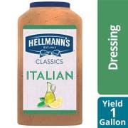 Single Hellmann's Classics Italian Salad Dressing Jug, 1 gallon -- 1 each