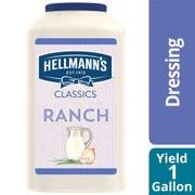 Single Hellmann's Classics Ranch Salad Dressing Jug, 1 gallon -- 1 each