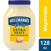 Hellmann's Extra Heavy Mayonnaise Jar, 1 gallon -- 4 per case