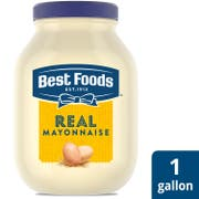 Single Best Foods Real Mayonnaise Jar, 1 gallon -- 1 each