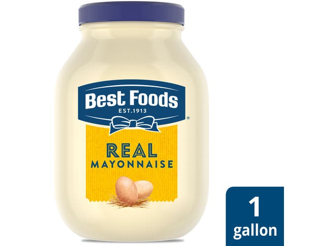 Single Best Foods Real Mayonnaise Jar, 1 gallon -- 1 each