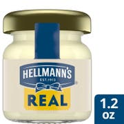 Hellmann's Real Mayonnaise Mini Jars, 1.2 ounce -- 72 per case