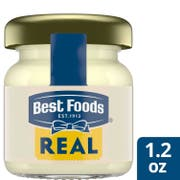 Best Foods Real Mayonnaise Mini Jars, 1.2 fluid ounce -- 72 per case